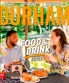 Durham Food & Drink Issue Cover