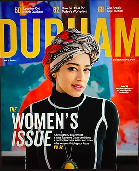 Durham Women's Issue Cover - StrongHER TogetHER
