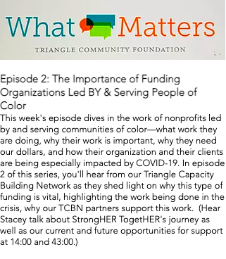 What Matters - StrongHER TogetHER